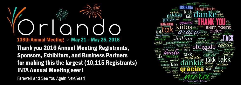 鍾亦琳律師參加美國奧蘭多參加2016國際商標協會年會